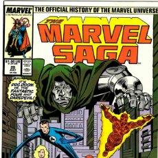 Cómics: MARVEL SAGA #20 - JULY 1987 -. Lote 224585808