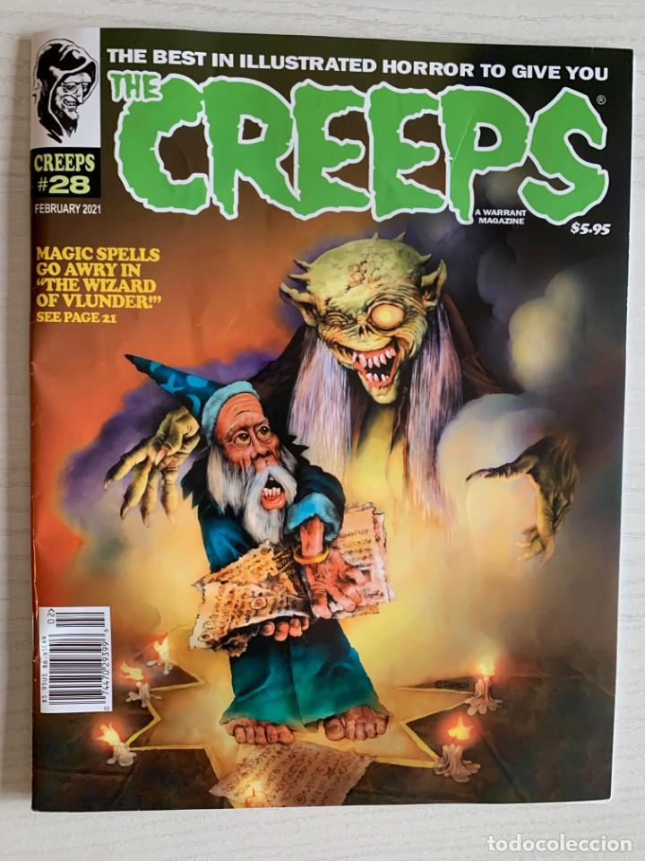 REVISTA DE TERROR THE CREEPS 28 - A WARRANT MAGAZINE - CREEPY - EERIE - FEBRERO 2021 RICHARD CORBEN (Tebeos y Comics - Comics Lengua Extranjera - Comics USA)