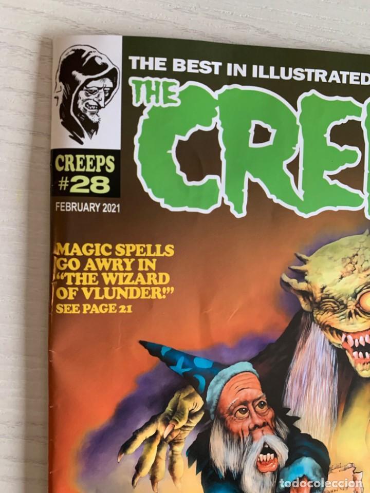 Cómics: REVISTA DE TERROR THE CREEPS 28 - A WARRANT MAGAZINE - CREEPY - EERIE - FEBRERO 2021 RICHARD CORBEN - Foto 2 - 224956475
