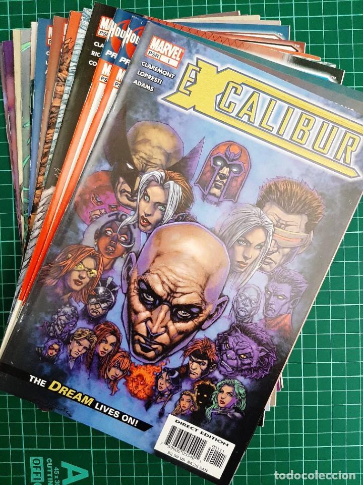 EXCALIBUR VOL 3 (2004), 1 - 14 (COMPLETA!!!) - MARVEL COMICS (Tebeos y Comics - Comics Lengua Extranjera - Comics USA)