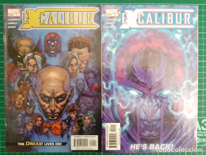 Cómics: EXCALIBUR Vol 3 (2004), 1 - 14 (Completa!!!) - Marvel Comics - Foto 2 - 225986275