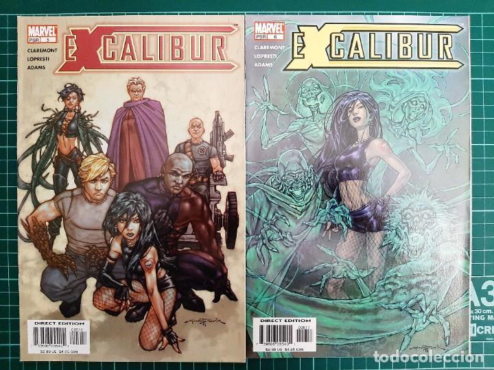 Cómics: EXCALIBUR Vol 3 (2004), 1 - 14 (Completa!!!) - Marvel Comics - Foto 4 - 225986275