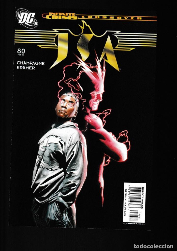 JSA JUSTICE SOCIETY 80 - DC 2006 VFN/NM (Tebeos y Comics - Comics Lengua Extranjera - Comics USA)