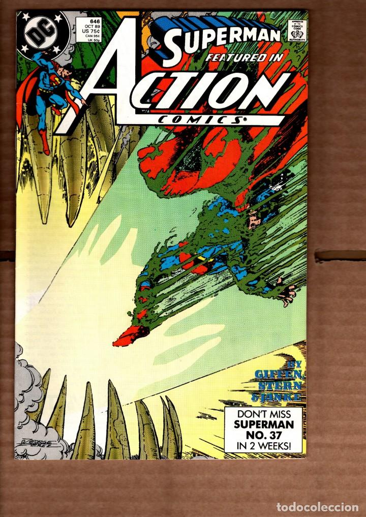 ACTION COMICS 646 SUPERMAN - DC 1989 VFN- / KEITH GIFFEN (Tebeos y Comics - Comics Lengua Extranjera - Comics USA)