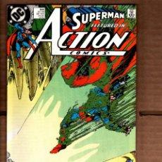 Cómics: ACTION COMICS 646 SUPERMAN - DC 1989 VFN- / KEITH GIFFEN. Lote 236413640