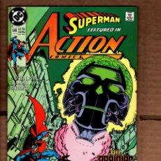 Cómics: ACTION COMICS 649 SUPERMAN - DC 1990 VFN- / GEORGE PEREZ / THE BRAINIAC TRILOGY. Lote 236413930