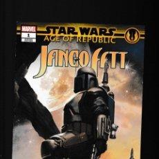 Cómics: STAR WARS AGE OF REPUBLIC : JANGO FETT - MARVEL 2019 VFN/NM VARIANT COVER. Lote 277423068