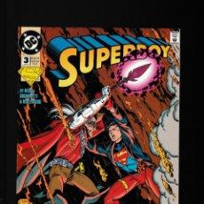 Cómics: SUPERBOY 3 - DC 1994 VFN/NM. Lote 227589505
