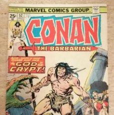 Fumetti: CONAN THE BARBARIAN Nº 52. Lote 227682530