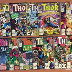 Cómics: LOT OF 15: THOR (THE MIGHTY) #396-410 (1962-1996 SERIES) - MID GRADE. Lote 227882890