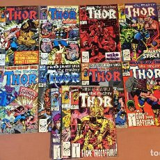 Cómics: LOT OF 15: THOR (THE MIGHTY) #413-426 (1962-1996 SERIES) - MID GRADE. Lote 227885970