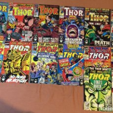 Cómics: LOT OF 14: THOR (THE MIGHTY) #428-441 (1962-1996 SERIES) - MID GRADE. Lote 227887175