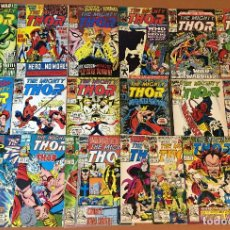Cómics: LOT OF 18: THOR (THE MIGHTY) #442-459 (1962-1996 SERIES) - MID GRADE. Lote 227888040