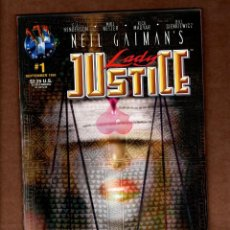 Comics: LADY JUSTICE 1 - TEKNO COMIX 1995 VFN/NM VARIANT COVER. Lote 228561720