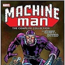 Cómics: MACHINE MAN KIRBY & DITKO THE COMPLETE COLLECTION. COLECCION COMPLETA MARVEL HOMBRE MAQUINA 440 PAG. Lote 228595610
