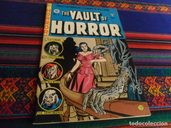 Cómics: THE VAULT OF HORROR 3 4 5 Y TALES FROM THE CRYPT 5. EC COMIC 1990 REGALO CREEPY 54 EN INGLÉS DRACULA - Foto 4 - 180188057