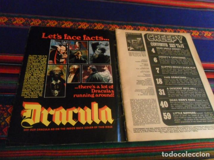 Cómics: THE VAULT OF HORROR 3 4 5 Y TALES FROM THE CRYPT 5. EC COMIC 1990 REGALO CREEPY 54 EN INGLÉS DRACULA - Foto 6 - 180188057