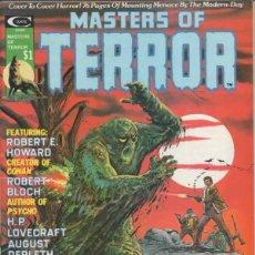 Cómics: MASTERS OF TERROR (1975 MARVEL) COLECCION COMPLETA 2 Nº. Lote 229261560