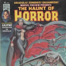 Cómics: MARVEL PREVIEW THE HAUNT OF HORROR Nº 12 (1975 MARVEL). Lote 229261845