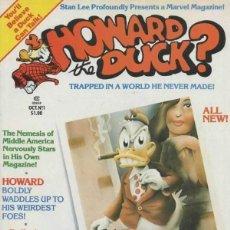 Cómics: HOWARD THE DUCK (1979 MARVEL) COLECCION COMPLETA 9 Nº. Lote 229262940
