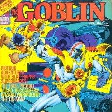Cómics: THE GOBLIN(1982 WARREN) COLECCION COMPLETA 3 Nº. Lote 229263195