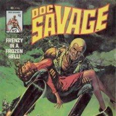 Cómics: DOC SAVAGE (1975 MARVEL ) Nº 3. Lote 229264315