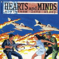 Cómics: HEARTS AND MINDS A VIETNAM LOVE STORY GN (1990 MARVEL/EPIC). Lote 229265185