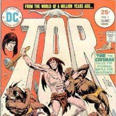 Cómics: TOR (1975 DC 1ST SERIES) JOE KUBERT COLECCION COMPLETA 6 Nº. Lote 229373195
