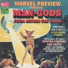 Cómics: MARVEL PREVIEW PRESENTS MAN-GODS FROM BEYOND THE STARS Nº 1 (1975 MARVEL). Lote 229406405