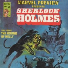 Cómics: MARVEL PREVIEW PRESENTS SHERLOCK HOLMES Nº 5-6 (1975 MARVEL). Lote 229407345