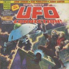 Cómics: MARVEL PREVIEW PRESENTS UFO CONNNECTION Nº 13 (1975 MARVEL). Lote 229408265