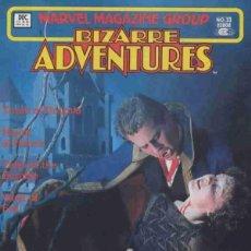 Cómics: BIZARRE ADVENTURES Nº 33 (1981 MARVEL). Lote 229412240