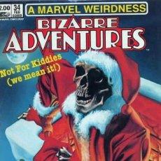 Cómics: BIZARRE ADVENTURES Nº 34 (1981 MARVEL). Lote 229412460