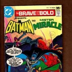 Fumetti: BRAVE & BOLD 138 BATMAN & MISTER MIRACLE / DC 1977 FN/VFN / JIM APARO. Lote 229714535