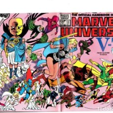 Comics : OFFICIAL HANDBOOK OF THE MARVEL UNIVERSE 12 - 1983 VFN+. Lote 229737035
