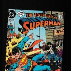 Cómics: SUPERMAN 471 ADVENTURES OF - DC 1990 VFN/NM / WILLIAM MESSNER-LOEBS & CURT SWAN. Lote 229796280