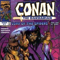 Cómics: CONAN LORD OF THE SPIDERS (1998 MARVEL) COMPLETA 3 Nº. Lote 230263450