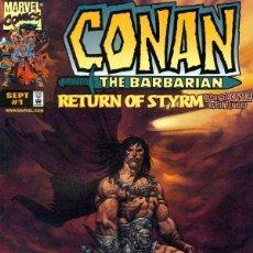 Cómics: CONAN RETURN OF STYRM (1998 MARVEL) COMPLETA 3 Nº. Lote 230264050