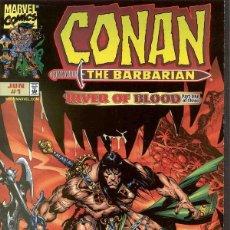 Cómics: CONAN RIVER OF BLOOD (1998 MARVEL) COMPLETA 3 Nº. Lote 230264365