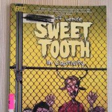 Comics : SWEET TOOTH TPB 2: IN CAPTIVITY - JEFF LEMIRE (INGLÉS) LEER DESCRIPCIÓN. Lote 230011730