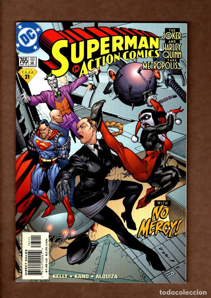 ACTION COMICS 765 SUPERMAN - DC 2000 VFN/NM / JOKER & HARLEY QUINN (Tebeos y Comics - Comics Lengua Extranjera - Comics USA)