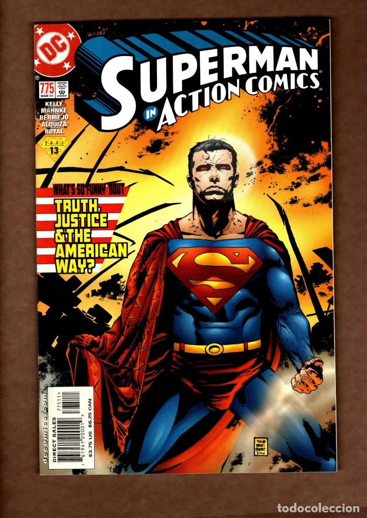 ACTION COMICS 775 SUPERMAN - DC 2001 VFN/NM / 1ST MANCHESTER BLACK & THE ELITE (Tebeos y Comics - Comics Lengua Extranjera - Comics USA)