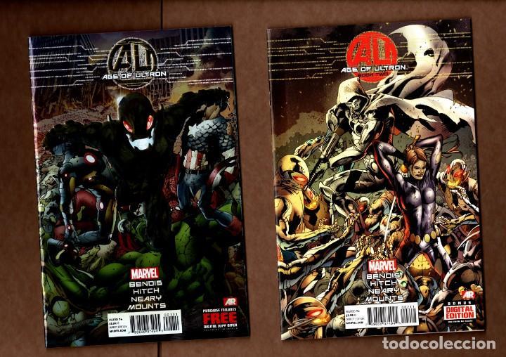 AGE OF ULTRON 1 2 3 4 5 6 7 8 9 10 COMPLETA - MARVEL 2013 VFN/NM / BENDIS & HITCH (Tebeos y Comics - Comics Lengua Extranjera - Comics USA)