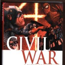 Cómics: CIVIL WAR - MARVEL 2012 VFN- / TAPA DURA CON SOBRECUBIERTAS / EDICIÓN USA EN INGLÉS. Lote 230827870