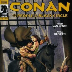 Cómics: CONAN AND THE PEOPLE OF THE BLACK CIRCLE (2013 DARK HORSE) Nº 1-2-3. Lote 230912675