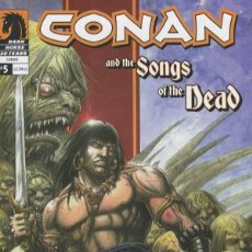 Cómics: CONAN AND THE SONGS OF THE DEAD (2006) Nº 5. Lote 230913110