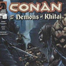 Cómics: CONAN AND THE DEMONS OF KHITAI (2005) COMPLETA 4Nº. Lote 230923360