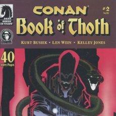 Cómics: CONAN BOOK OF THOTH (2006) Nº2. Lote 230923740