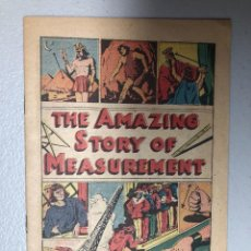 Cómics: COMIC. THE AMAZING STORY OF MEASUREMENT. COPYING 1957.. Lote 231261575