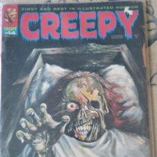 """Cómics: RICHARD CORBEN """"CREEPY"""" NÚM.44 (WARREN). Lote 231466280"""